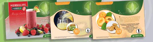 Herbalife Receptenkaarten